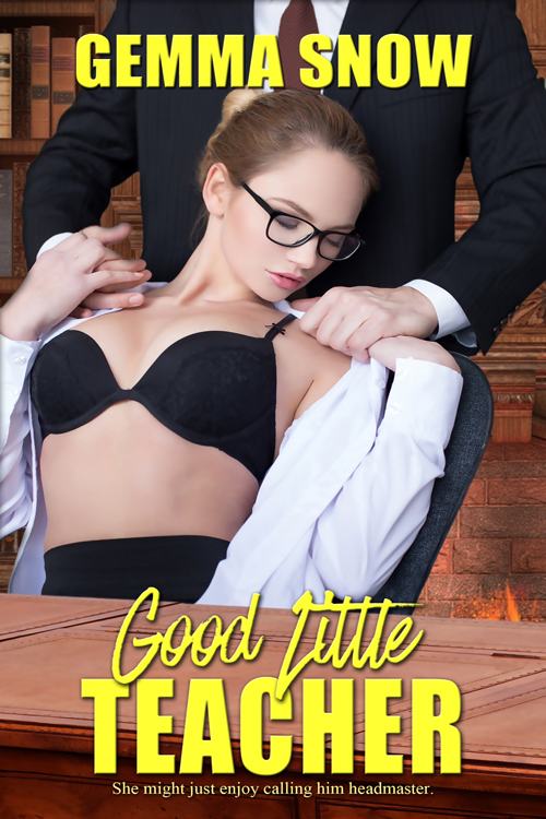 "His deep voice makes her shiver, and Emmy might find it all too easy to enjoy a ""hands-on"" lesson on how to properly address the handsome headmaster."