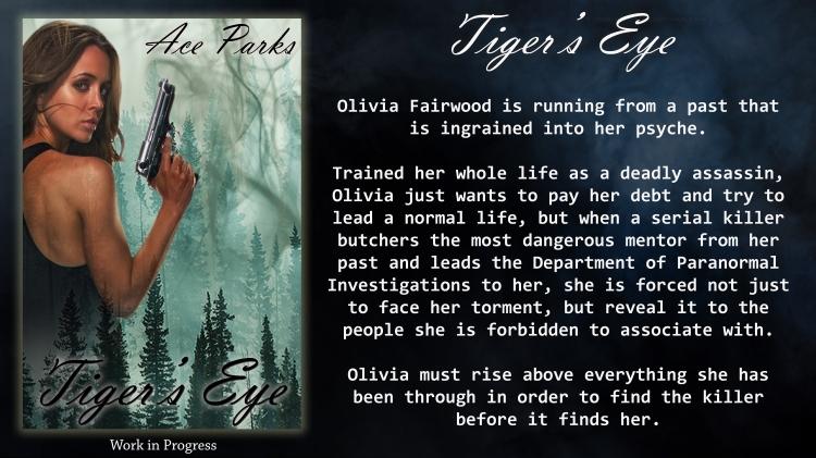 Tiger's Eye book Poster