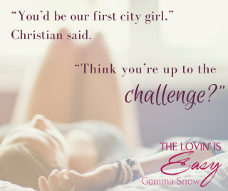 """You_d be our first city girl,"" Christian said. ""Think you_re up to the challenge-"""